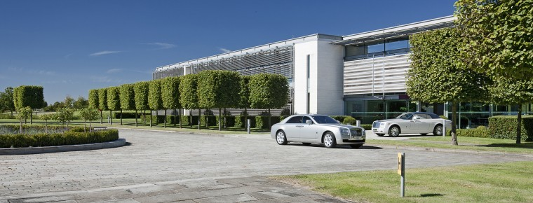 Major multi-million investment at Rolls-Royce's Goodwood ...
