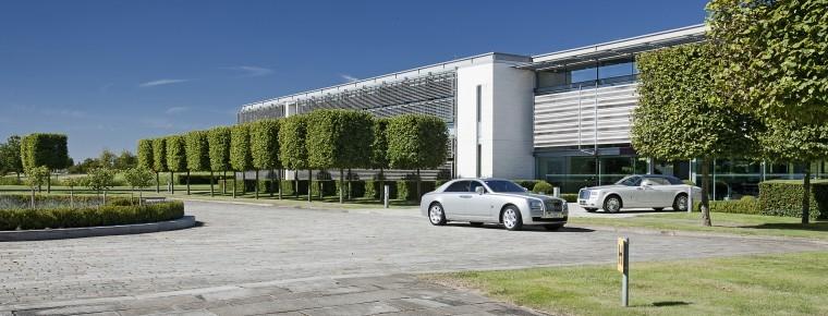 Major Multi Million Investment At Rolls Royce S Goodwood