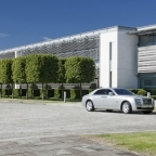 The Rolls-Royce headquarters at Goodwood in West Sussex
