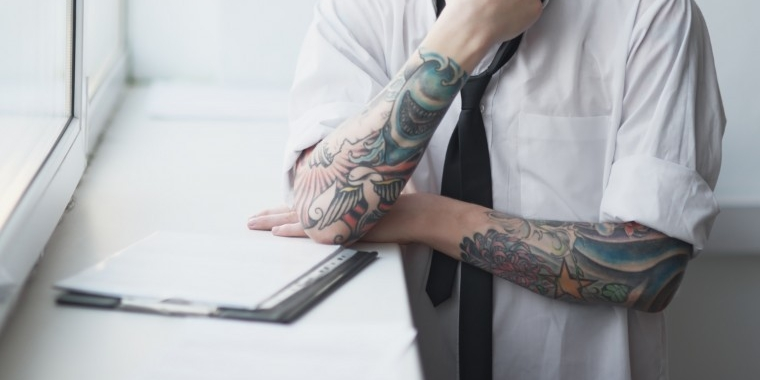 Tattoos how much is too much in your workplace south for How much is a prinker tattoo