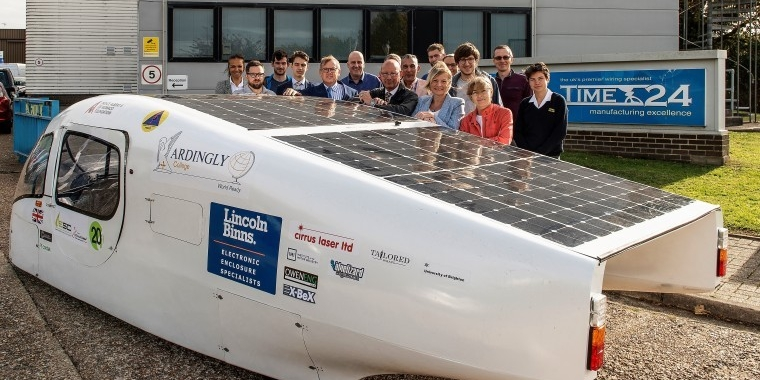 Supercharged performance from Sussex solar racers