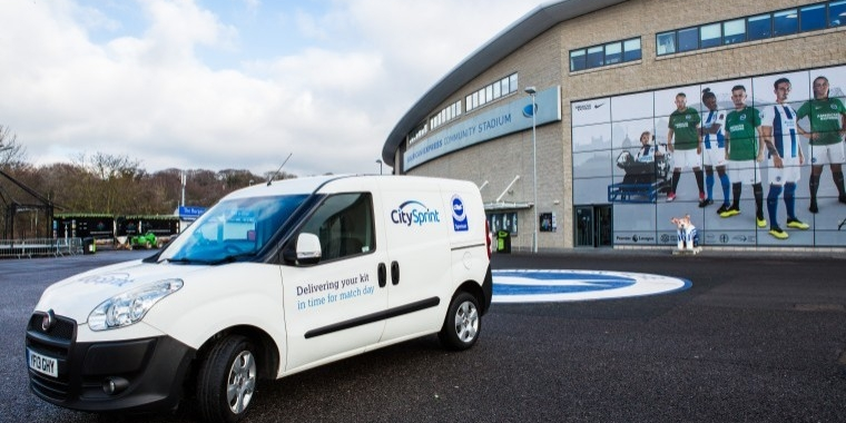 CitySprint teams up with Brighton & Hove Albion