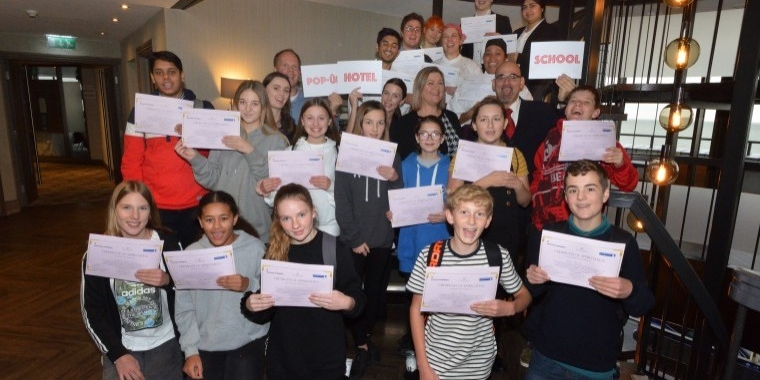 Eastbourne's first pop-up hotel school