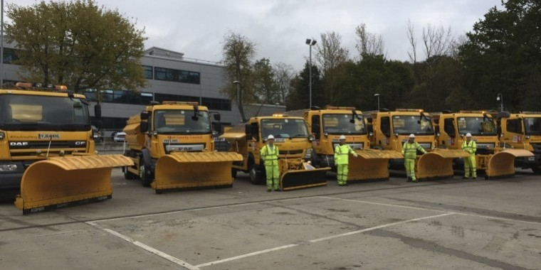 Gritters hit the roads ahead of winter