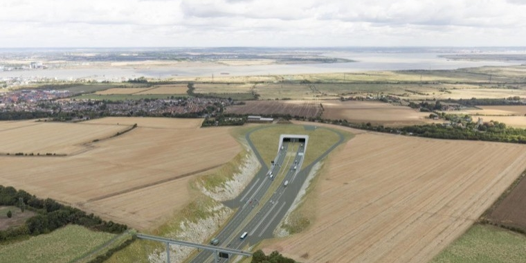 Lower Thames Crossing to boost road capacity by 90%