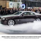 The new Rolls-Royce Wraith is being released at the end of 2013