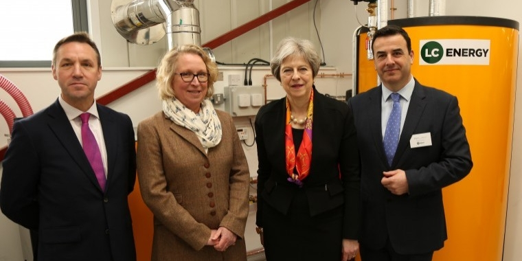 UK's first biomass training facility
