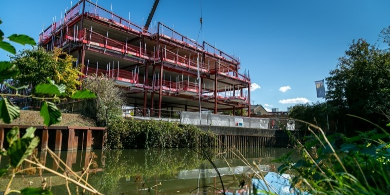 £6.5 million office development tops out