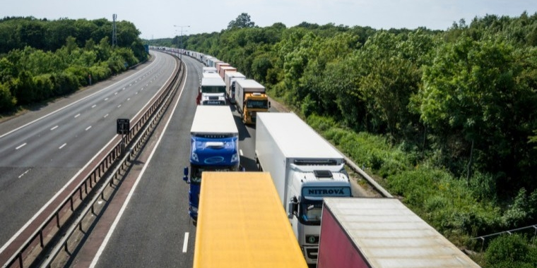 HGV tracking system could help ease M20 queues