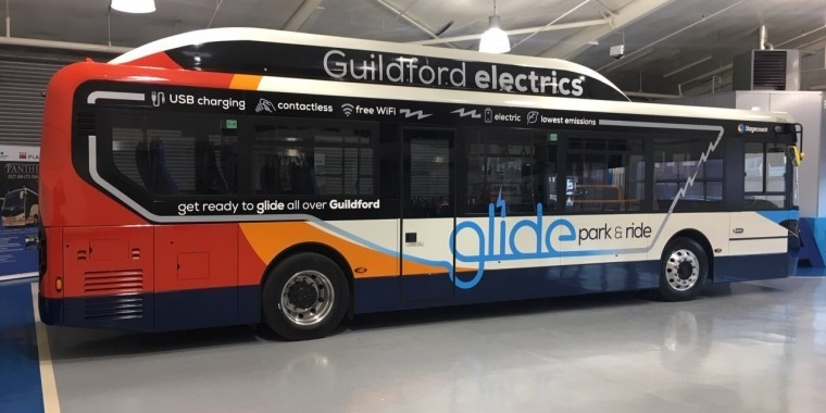 Electric first for Guildford